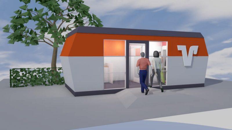 SB-Pavillon-Mobilbau-Volksbank