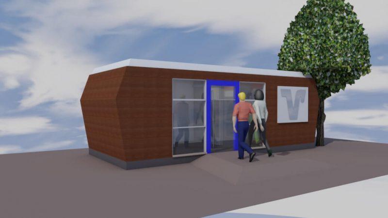 SB-Pavillon-Volksbank-Mobilbau
